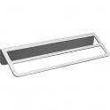 Porte-serviette - 2 barres fixes - 145 x 550 x 84 mm - Trinium - Pellet ASC