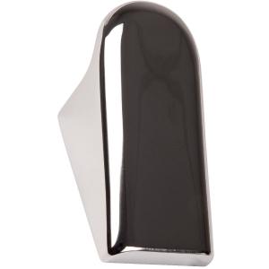 Porte-peignoir simple chromé - Inda