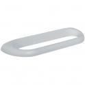 Porte-serviette - 1 barre fixe - 100 x 360 x 30 mm - Durofort - Pellet ASC