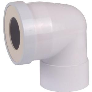 Pipe courte femelle ø 100 mm à 90° - Regiplast