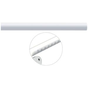 Tube droit blanc - 160 mm - Ø 33 mm - Ergosoft - Pellet ASC