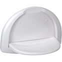 Siège de douche mural - 260 x 460 x 332 mm - ABS blanc - Pellet ASC