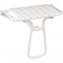 Siège de douche escamotable blanc - 360 x 580 x 500 mm - Pellet ASC