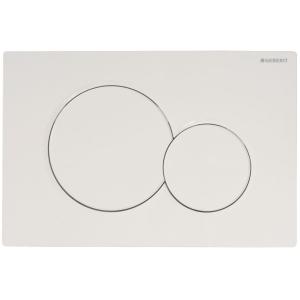 Plaque de commande - Sigma 01 Blanc - Geberit