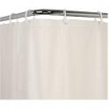 Rideaux de douche - PVC blanc - 1,8 x 0,9 m - Pellet ASC