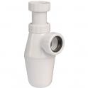 """Siphon de lavabo à culot - 1""""1/4 - Ø 32 mm - Luxe - Sélection Cazabox"""