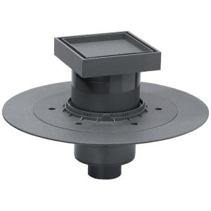siphon de douche carreler 130 x 130 mm sortie verticale venisio wirquin pro cazabox. Black Bedroom Furniture Sets. Home Design Ideas