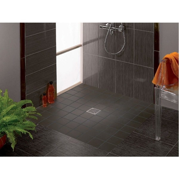 siphon de douche carreler 150 x 150 mm sortie horizontale venisio wirquin pro cazabox. Black Bedroom Furniture Sets. Home Design Ideas