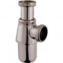 """Siphon de lavabo à culot chromé - 1""""1/4 - Ø 32 mm - Sélection Cazabox"""