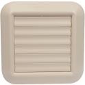 Grille carrée - pour façade couleur sable - Nicoll