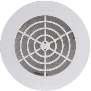 grille d 39 a ration ronde 161 mm avec moustiquaire. Black Bedroom Furniture Sets. Home Design Ideas