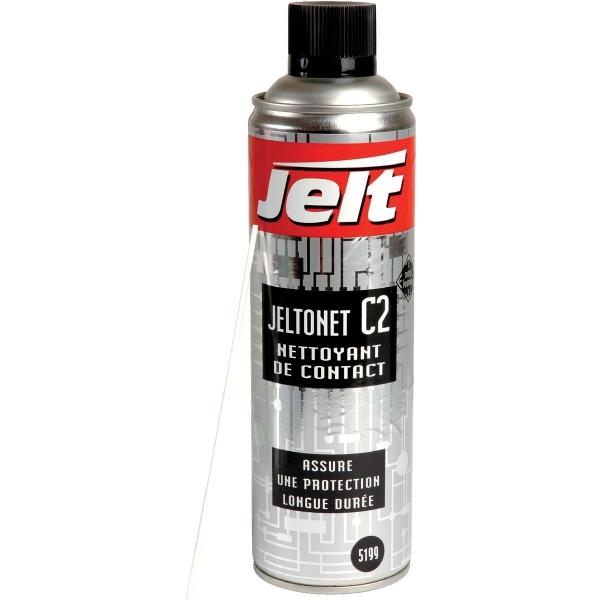 Nettoyant de contact 650 ml jeltonet c2 jelt cazabox - Nettoyant contact electronique ...