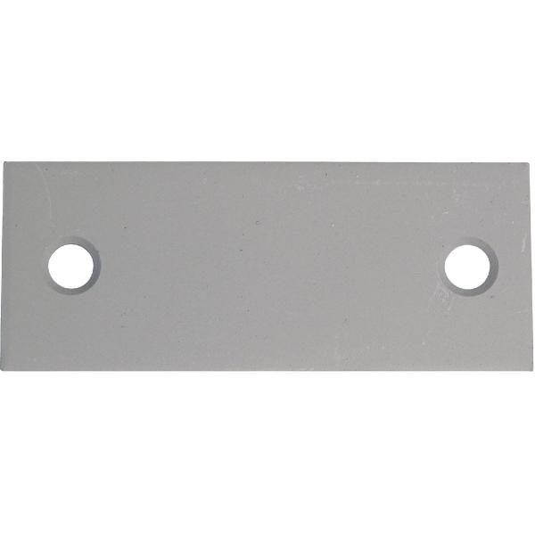 Contre plaque en t le galvanis e 100x40 mm s lection cazabox cazabox - Fixation tole ondulee galvanisee ...
