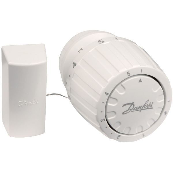 T te thermostatique de radiateur classique bulbe distance ra 2992 danfoss cazabox - Tete thermostatique radiateur ...