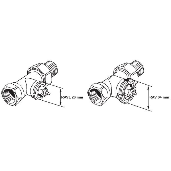 T te thermostatique de radiateur de remplacement bulbe incorpor danfoss cazabox - Tete thermostatique radiateur ...