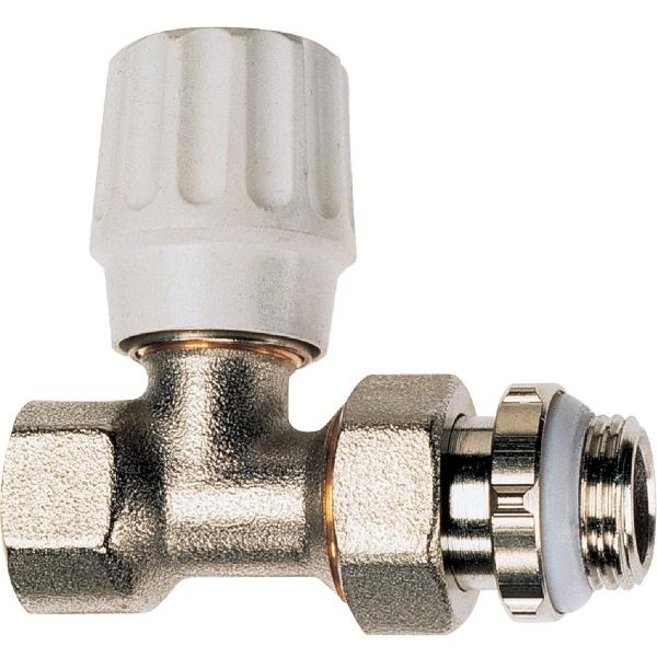 Robinet de radiateur droit visser f 3 8 simple - Changer robinet thermostatique radiateur ...