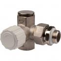 Robinet de radiateur thermostatisable réversible - RBM