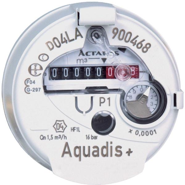 Compteur d 39 eau divisionnaire eau froide aquadis itron - Compteur eau froide ...