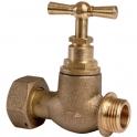 Robinet d'arrêt après compteur d'eau avec tête potence - Watts industrie