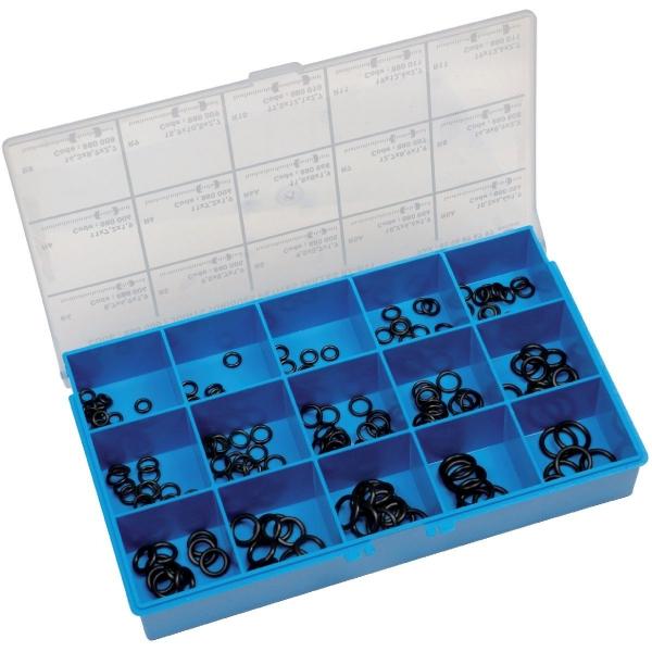 assortiment de joints toriques petite taille coffret de 200 pi ces s lection cazabox cazabox. Black Bedroom Furniture Sets. Home Design Ideas