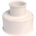 Manchon blanc double pour cuvette - Watts industrie