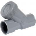 Clapet anti-retour PVC gris - Ø 32 mm - Nicoll