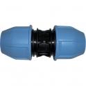 Raccord plastique droit à serrage - Ø 63 mm - Unistar