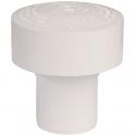 Clapet équilibreur de pression PVC blanc - Ø 40 mm - Durgo - Sélection Cazabox