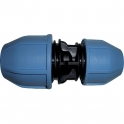 Raccord plastique réduit à serrage - Ø 25 - 20 mm - Unistar