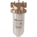 """Filtre à eau avec cartouche - 8 m""""/h - F 1"""" - Aquanova magnum - Oventrop"""
