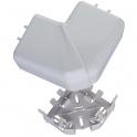 Angle plat 90° - Pour goulotte 35 / 50 x 80 mm - Couvercle 65 mm - DLP monobloc - Legrand