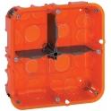 Boîte d'encastrement Batibox multimatériaux 2 x 2 postes - Legrand