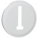 Enjoliveur blanc - Prise téléphone - Céliane - Legrand