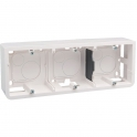 Cadre saillie pour 6, 8 ou 3 x 2 modules horizontal Mosaic - Legrand