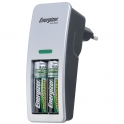 Mini chargeur pour pile AA et AAA + 2AA - Energizer