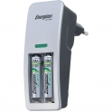 Mini chargeur pour pile AA et AAA + 2AAA - Energizer