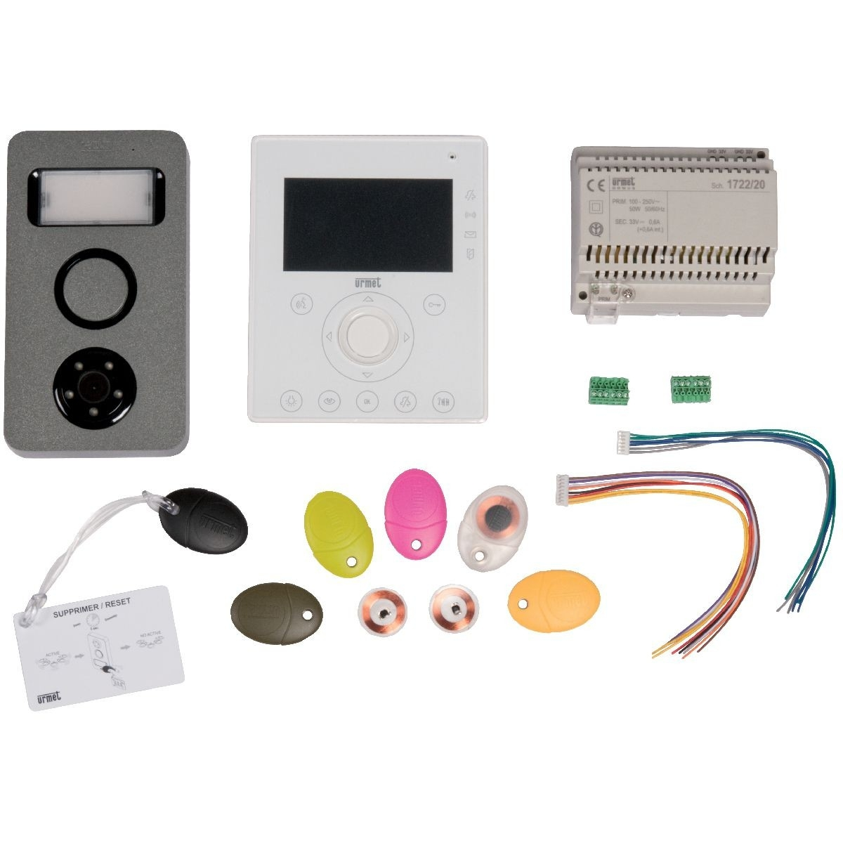 Recherche cablage interphone - Urmet mini note ...
