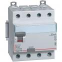 Interrupteur différentiel tétrapolaire DX³ ID - Type AC - 25 A - 4 modules - Connexio vis / vis -  Arrivée haut / départ bas - L