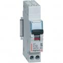 Disjoncteur DX³ 4500-  6 kA courbe C - 10 A - 1 module - Connexion auto / vis - Legrand