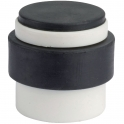 Butoir rond nylon blanc / noir plein - Ø 38 x 40 mm - Eurowale