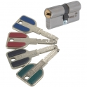 Cylindre 2 entrées varié inox - 32,5 x 32,5 mm - Radial NT + - Vachette
