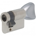 Demi cylindre nickelé - B30 x 10 mm - Stremler