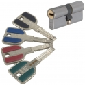 Cylindre 2 entrées varié inox - 32,5 x 32,5 mm - Radial NT - Vachette