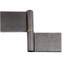 Paumelle de grille - 140 x 220 mm - Lames longues - Faure et fils