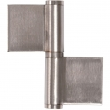 Paumelle à souder inox - 100 x 95 mm - Faure et fils