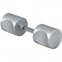 Bouton de porte aluminium - Carré 7 mm - Actural - Vachette