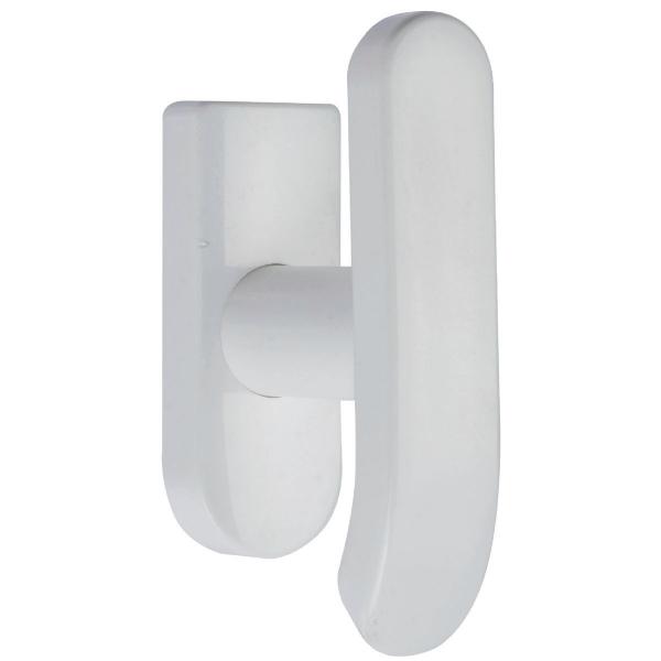 ensemble sur rosace blanc bouton pour oscillo battant inpro normbau cazabox. Black Bedroom Furniture Sets. Home Design Ideas