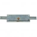Serrure pour rideau métallique acier en applique - Clé I - Prefer - JPM