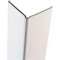 Cornière de protection d'angles grise claire - 1,20 m - Vachette