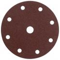 Disque papier auto-agrippant 8 trous - Ø150 mm - Grain 40 - SIA Abrasives